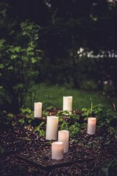 Nordic White Smooth 8x20 - Enjoy Candles