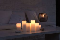 Nordic White Smooth 8x15- Enjoy Candles