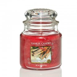 Yankee Candle Sparkling Cinnamon - Medium jar
