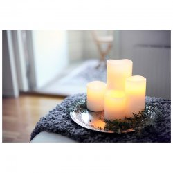 Ivory Smooth 8x15 - Enjoy Candles