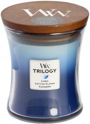 WoodWick trilogy Clothesline Fresh - Medium