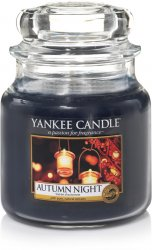 Yankee Candle Autumn Nights - Medium jar