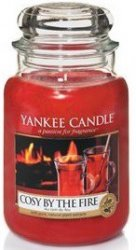 Yankee Candle Cozy by the fire - Large jar