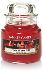 Yankee Candle Cozy by the fire - Small jar