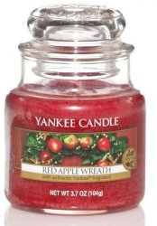 Yankee Candle Red Apple Wreath - Small jar