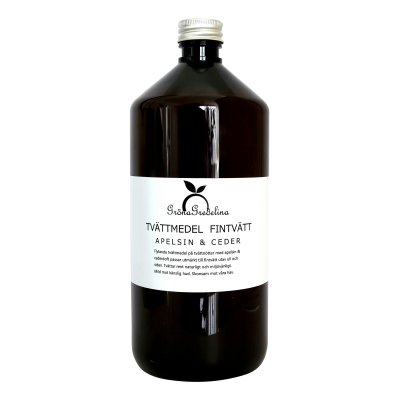 Flytande tvättmedel apelsin & Ceder - Gröna Gredelina (Ingen prenumeration)