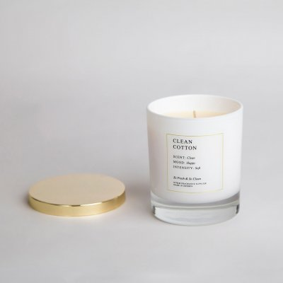 Doftljus | Clean Cotton - 300 ml | Sthlm Fragrance Supplier