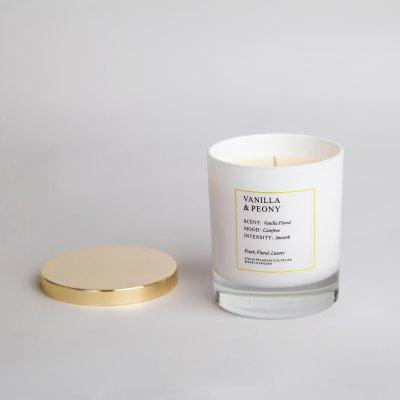 Doftljus | Vanilla & Peony - 300 ml |Sthlm Fragrance supplier