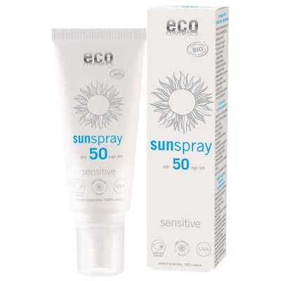 Ekologisk solspray Sensitiv SPF 50 100ml - Eco Cosmetics