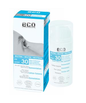 Ekologisk sollotion neutral SPF 30 100ml - Eco Costmetics
