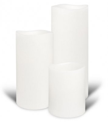 Nordic White Smooth 8x10 - Enjoy Candles