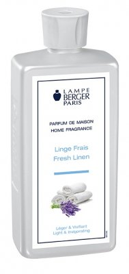 Doft till doftlampa | Fresh Linnen - Blå |Maison Berger Paris