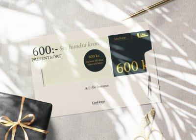 Presentkort - 600:-