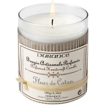 Durance Handcraft Candle Cotton Flower