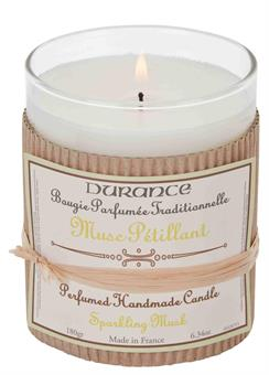 Durance Handcraft Candle Sparkling Musk