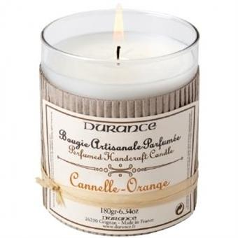 Durance Handcraft Candle Orange Cinnamon