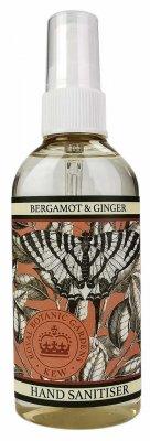 Handsprit - Bergamot & Ginger - 100ml  |KEW gardens