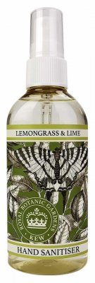 Handsprit - Lemongrass & Lime - 100ml  | KEW gardens