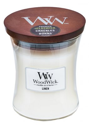 Woodwick linen - medium