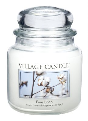 Village Candle Pure Linen - 16oz
