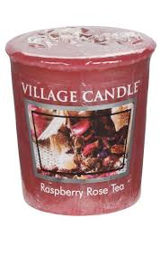 Village Candle Raspberry Rose Tea - Votive