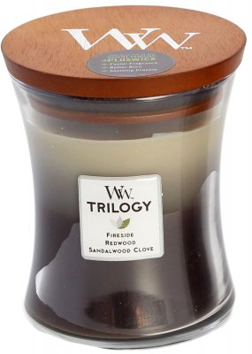 WoodWick Trilogy Warm Woods - Medium