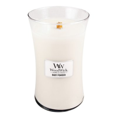 WoodWick Baby Powder – Large
