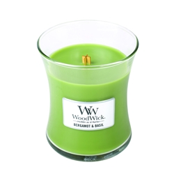 WoodWick Bergamot & Basil – Medium