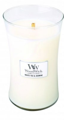 WoodWick White Tea & Jasmine - Large