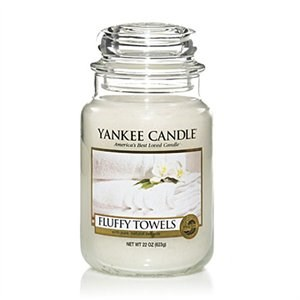 Yankee Candle Fluffy Towels - Large jar