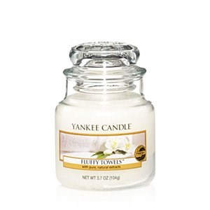 Yankee Candle Fluffy Towels - Small jar